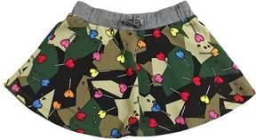 Diesel Lollipop Printed Cotton Skirt