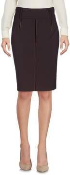 Class Roberto Cavalli Knee length skirts