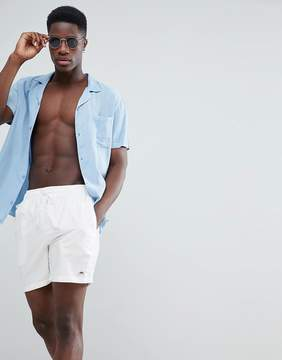 Penfield Seal Swim Shorts Small Logo in White