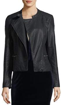 Cupcakes And Cashmere Donny Vegan Leather Jacket
