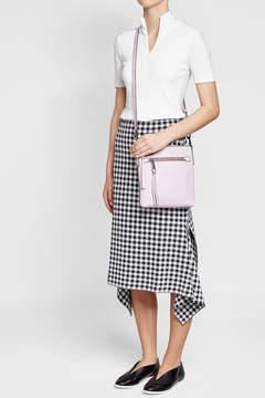 Marc Jacobs Leather Shoulder Bag - PINK - STYLE