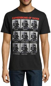 Star Wars Novelty T-Shirts Darth Vader Expressions Graphic Tee