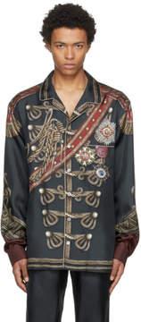 Dolce & Gabbana Green Knight Shirt
