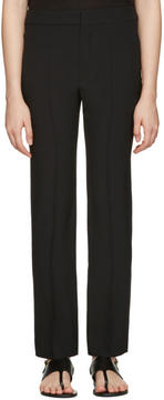 Chloé Black Cady Trousers