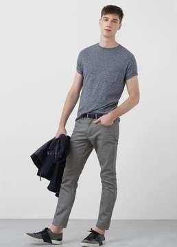 Mango Outlet Slim-fit grey Patrick jeans