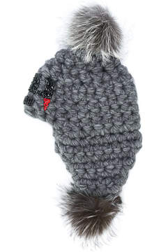 Philipp Plein pompom hat