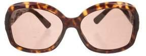 Salvatore Ferragamo Gancini Tortoiseshell Sunglasses