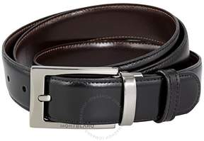 Montblanc Contemporary Belt Black/Brown Reversible Belt