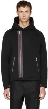 Kolor Black Puffy Hooded Jacket