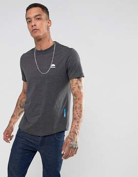 Ellesse Italia T-Shirt With Small Logo In Gray