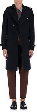 Kolor Men's Wool Trench Coat