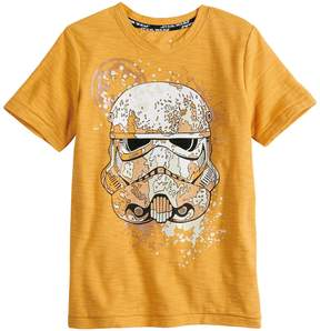 Star Wars A Collection For Kohls Boys 4-7x a Collection for Kohl's Stormtrooper Slubbed Graphic Tee