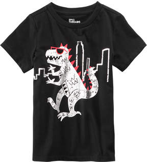 Epic Threads Dino City Graphic-Print T-Shirt, Little Boys (4-7), Created for Macy's
