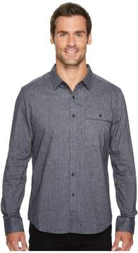 Kenneth Cole Sportswear Herringbone Shirt Men's Coat