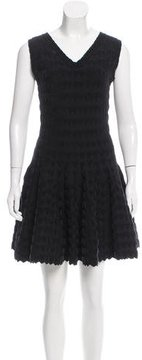 Alaia Heart Fit and Flare Dress