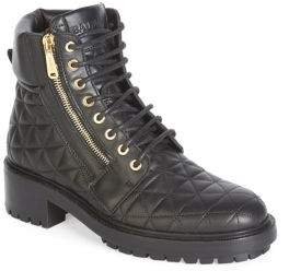 Balmain Army Ranger Quilted Leather Boots