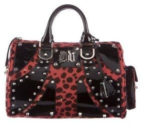 Versace Ponyhair Handle Bag