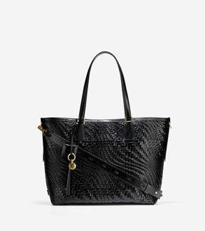 Cole Haan Genevieve Weave Tote