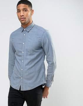 Esprit Shirt in Slim Fit with Stich Detail