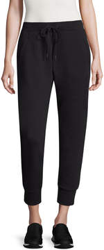 Armani Exchange Women's Solid Cropped Pants