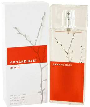 Armand Basi in Red by Armand Basi Eau De Toilette Spray for Women (3.4 oz)