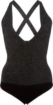 Cushnie et Ochs Deep V Knit Bodysuit