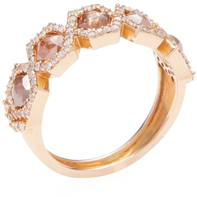 Artisan Women's 18K Rose Gold & 1.80 Total Ct. Ice Diamond Ring