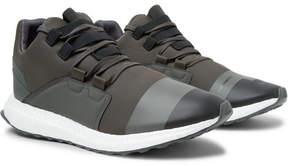 Y-3 Kozoko Rubber-Trimmed Neoprene Sneakers