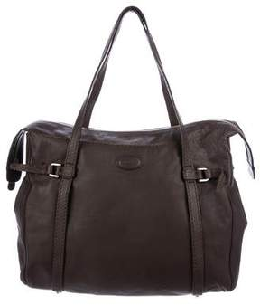 Tod's Belted Leather Tote