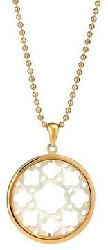 Asha Women's Carlotta Mother-Of-Pearl Long Pendant Necklace