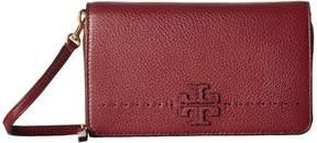 Tory Burch McGraw Flat Wallet Crossbody Cross Body Handbags - BAGUETTE - STYLE