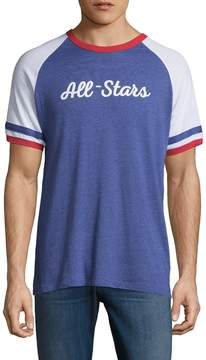 Alternative Apparel Men's Slap Shot Raglan Tee