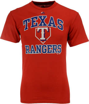 Majestic Men's Texas Rangers Hit and Run T-Shirt