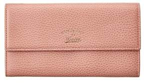 Gucci Pink Leather Swing Continental Wallet. - PINK MULTI - STYLE