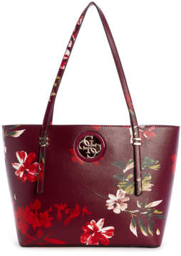 GUESS Open Road Floral Tote