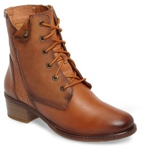 PIKOLINOS Women's Zaragoza Water Resistant Lace-Up Boot