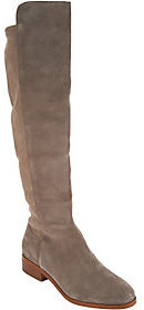 Sole Society As Is Suede Tall Shaft Boots - Calypso