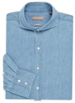 Michael Bastian Denim Buttoned Dress Shirt