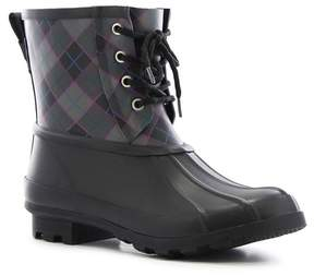 Western Chief Check Plaid Waterproof Duck Boot (Women)