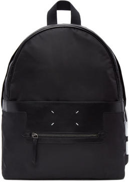 Maison Margiela Black Nylon Backpack