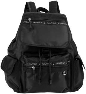 Nautica Black Captain's Quarter Backpack