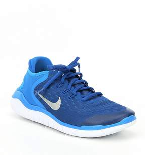 Nike Boys' Free RN 2018 Lace Up Running Shoes