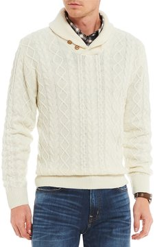 Daniel Cremieux Shawl Collar Sweater