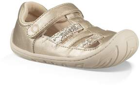 UGG Girls' Santore Metallic Sparkles Sandals