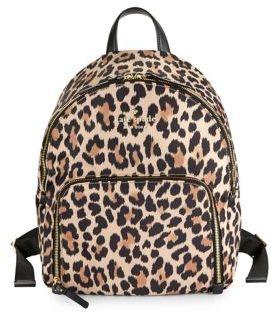 Kate Spade Watson Lane Leopard Hartley Backpack - LEOPARD - STYLE