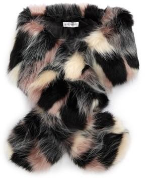 Sole Society Women's Oversized Faux Fur Wrap