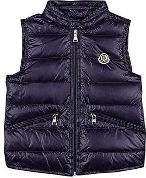 Moncler Kids' Quilted Tech-Taffeta Vest