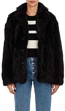 08sircus Women's Faux-Fur Coat