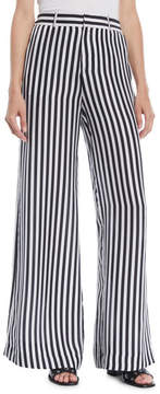 RtA Jupiter Striped Wide-Leg Pants