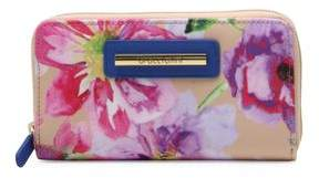 Braccialini Cristina Floral Zip-Around Wallet